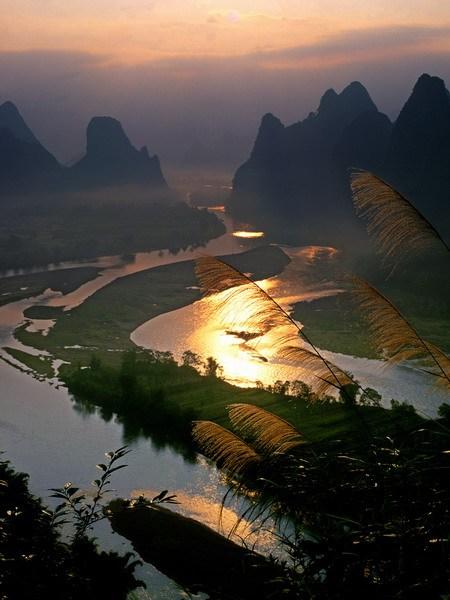 Путешествие по красивым местам Китая