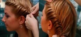 Как заплести косички на коротких волосах (часть 2)