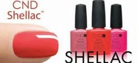 Гель-лаки shellac для ногтей