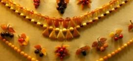 Мода на янтарные украшения