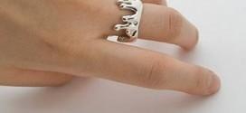 Оригинальные кольца - достойные украшения для женщин