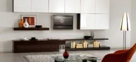 Основные функции корпусной мебели для гостиной