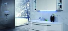 Комплекты современной мебели для ванной комнаты