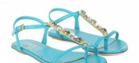 Итальянские сандалии. - Образец обувного стиля