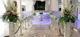 Как модно оформить свадебный зал
