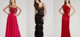 Разновидности вечерних платьев