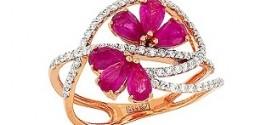 Кольцо с рубином: с чем носить