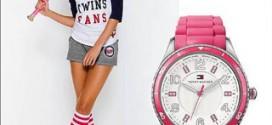 Розовые часы в арсенале девушки: с чем носить