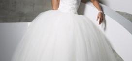 Как подобрать свадебное платье высокой худенькой девушке