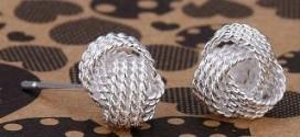 Мода на серьги: серебро в тренде
