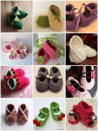 Пинетки – это первая обувь малыша