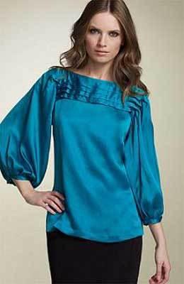 Модные блузки 2015 года