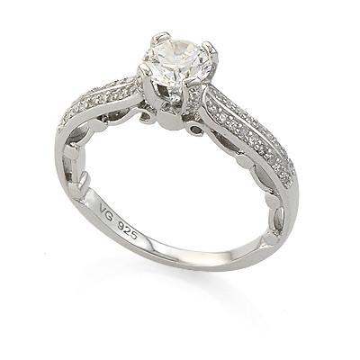 серебряные кольца цены и фото