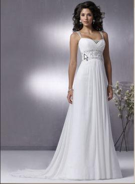 Свадебное платье стиль ампир