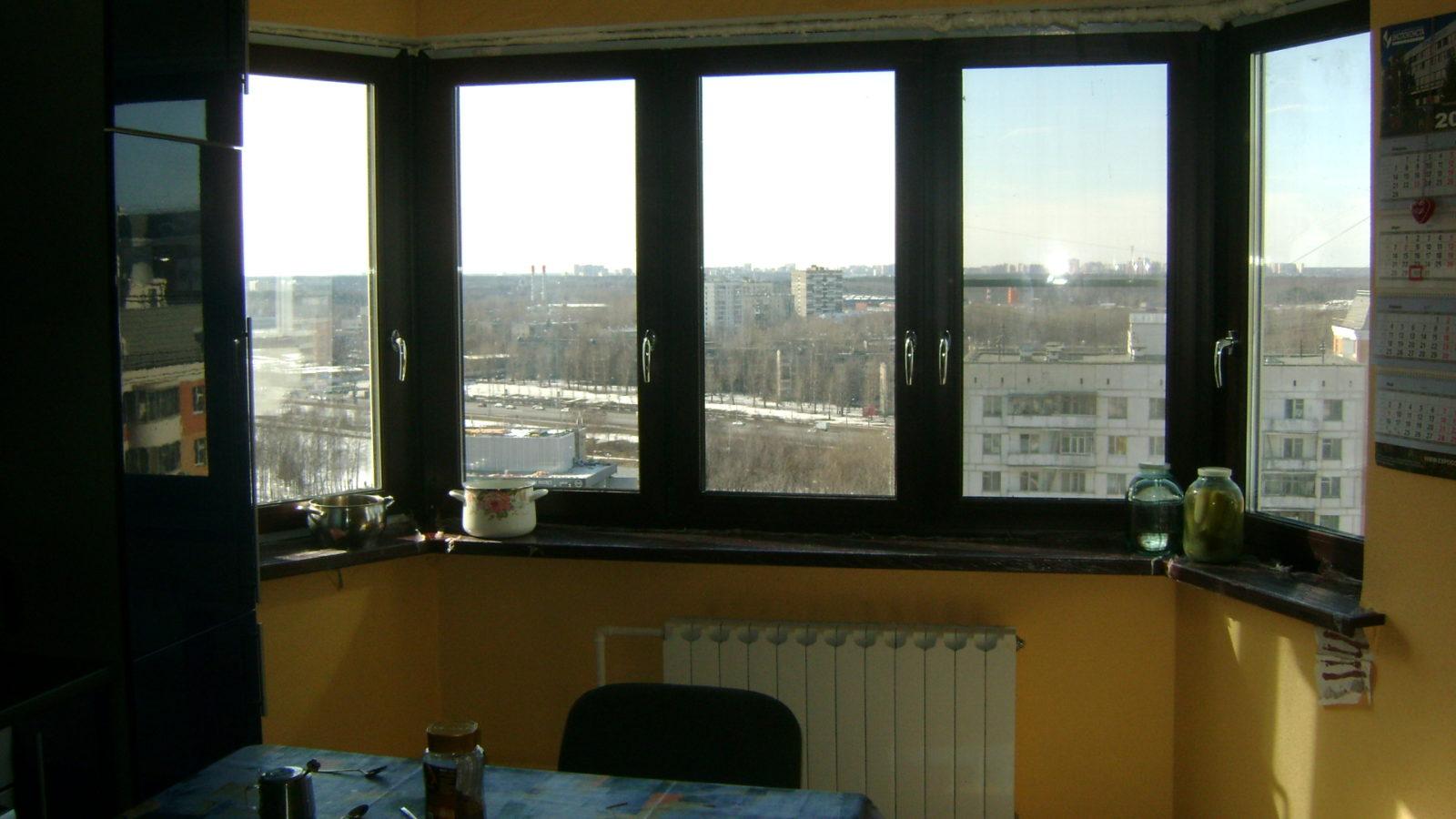 Интерьерные окна пвх для дома