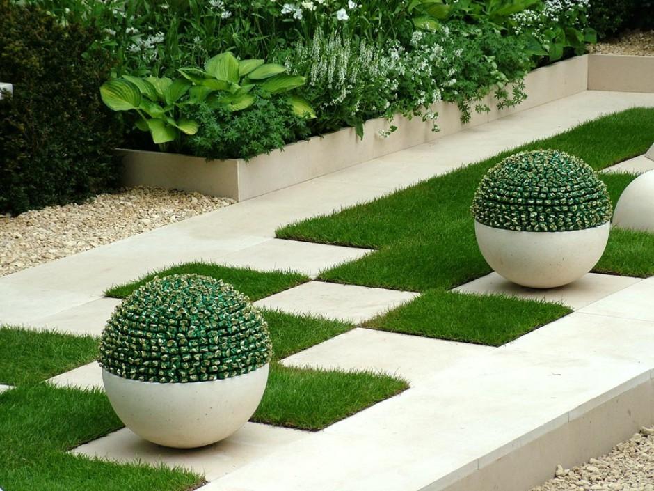 Стильный способ декорирования интерьера зеленью