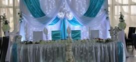 Как устроить декор свадебного зала и где купить подушечку для колец?