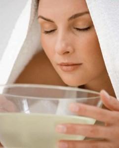 Как очистить кожу дома с помощью паровой бани