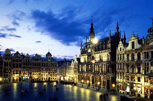Красота Брюсселя