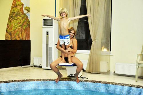 Дубцова показалась в купальнике
