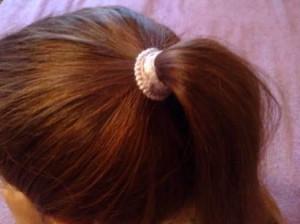 шишка из волос1