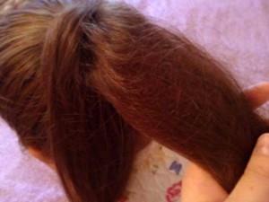 шишка из волос2