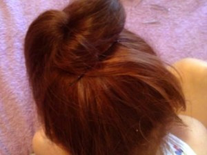 шишка из волос3