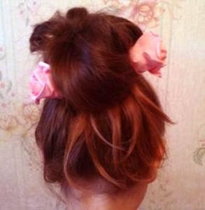 шишка из волос4
