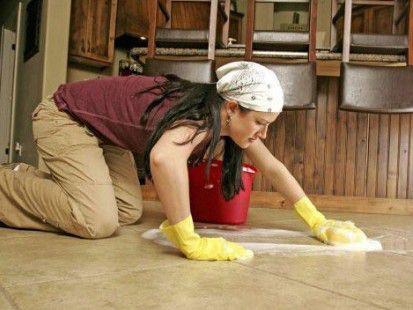 Как ухаживать за плиткой в домашних условиях