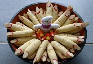 Идеи на хэллоуин - Печенье пальцы