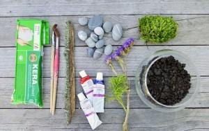 Террариум с растениями-2