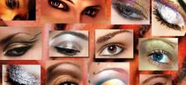 Нанесение вечернего макияжа глаз