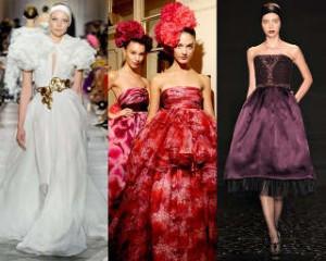 Самые шикарные и пышные модели вечерних платьев 2013