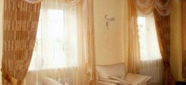 Шторы - элемент украшения комнаты