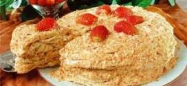 История возникновения и секреты приготовления торта Наполеон