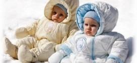 Выбираем верхнюю зимнюю одежду для младенца