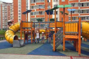 Площадка во дворе - залог здорового развития ребенка