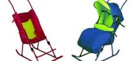 Санки-коляски-комфортное передвижение в зимнее время года