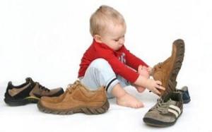 Детская обувь. Стандарты выбора