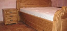 Дубовые кровати в интерьере дома: комфорт и здоровье