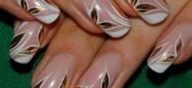 Маникюр к Новому году – как оригинально украсить ногти?