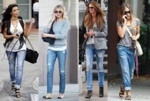 С чем комбинировать джинсы, чтобы выглядеть стильно?