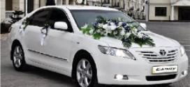 Авто на свадьбу: как украсить авто?