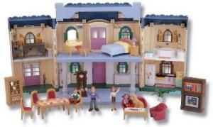 Кукольные домики для деток: какими бывают