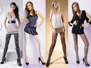 Выбираем модные женские колготки