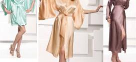 Женские халаты: особенная вещь в гардеробе