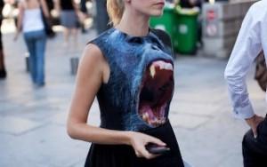 Мода на футболки с 3D эффектом