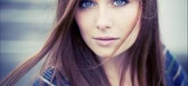 Макияж под голубые глаза