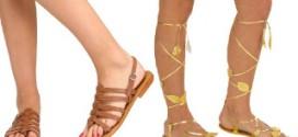 В чем особенность моды на греческие сандалии