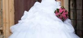 Как скрыть животик, выбрав правильное свадебное платье